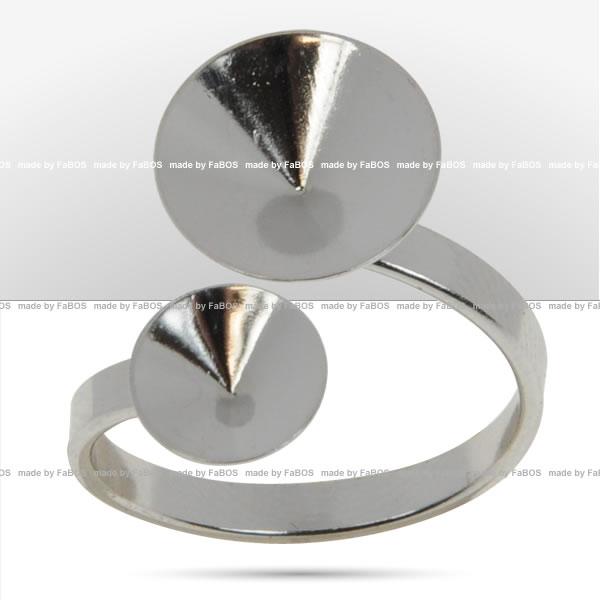 Prsteny pro RIVOLI 1122 Prsten pro Rivoli Swarovski 8+12mm - FaBOS