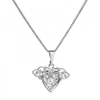 Náhrdelník Sole srdce Crystal SWAROVSKI