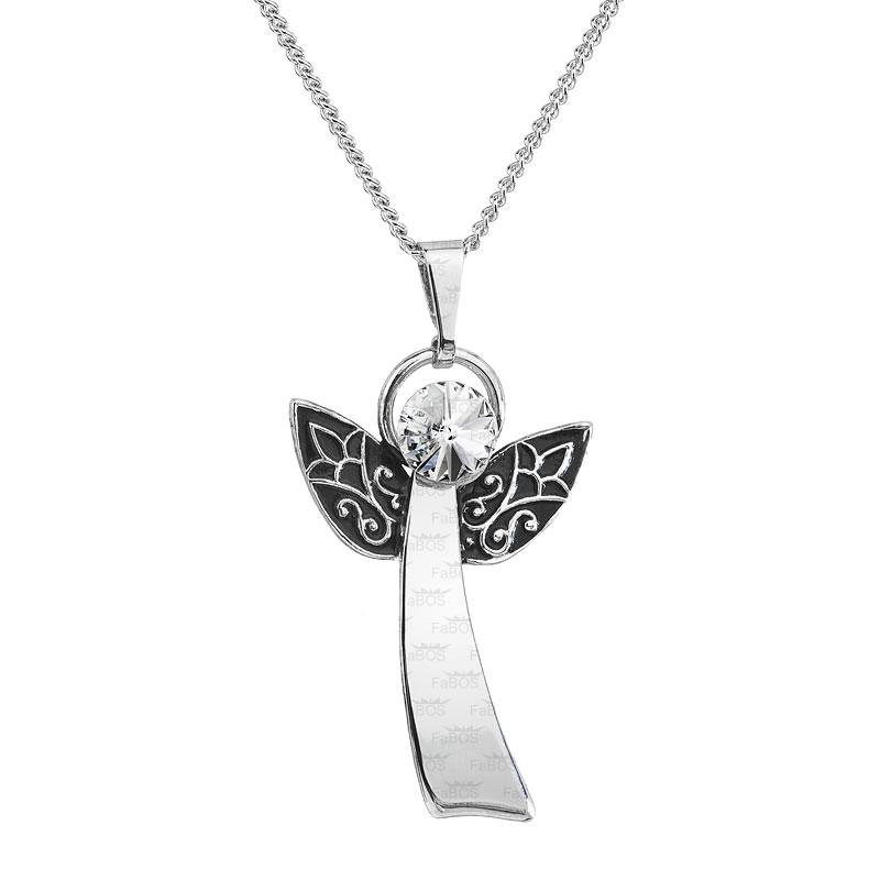 Náhrdelník Anděl Rivoli 6 crystal SWAROVSKI