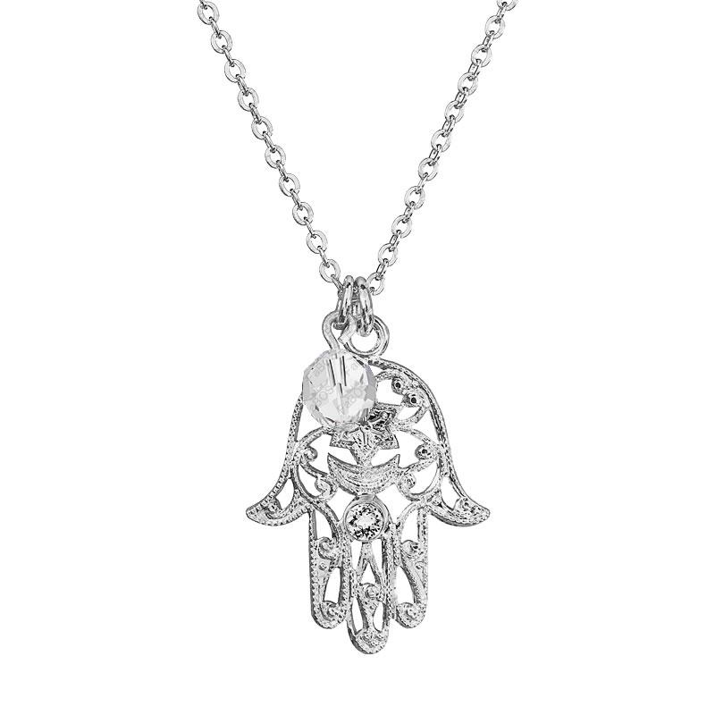 Náhrdelník fatima korálek Crystal