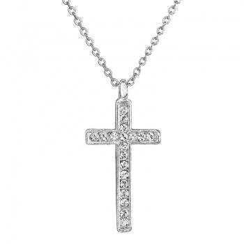Náhrdelník Křížek Crystal SWAROVSKI
