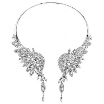 Náhrdelník velký anděl crystal SWAROVSKI