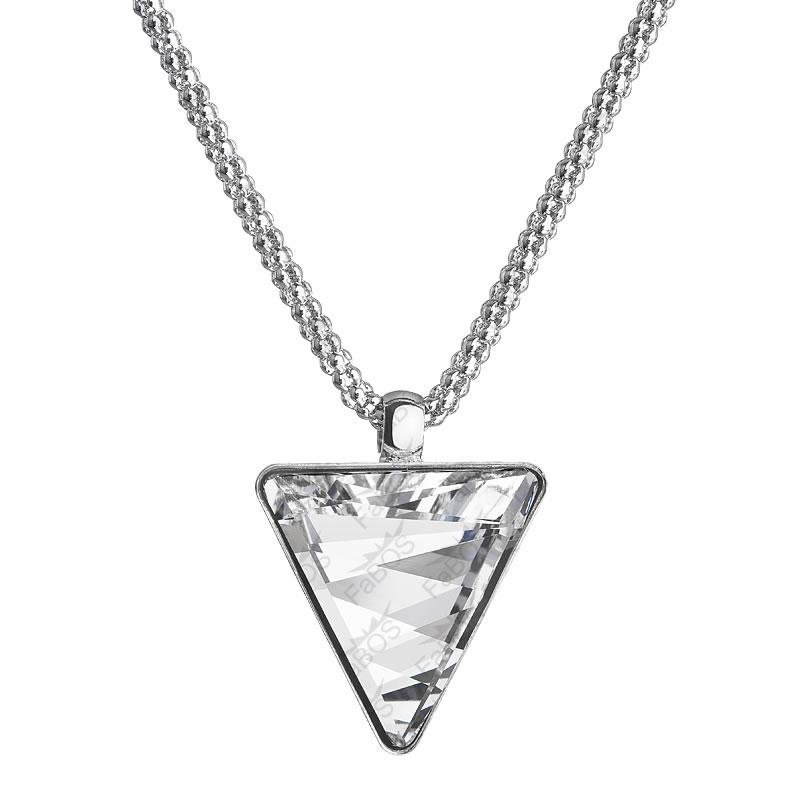 Náhrdelník Trojúhelník 21mm Crystal SWAROVSKI