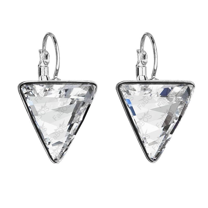 Náušnice Trojúhelník 15,5mm Crystal SWAROVSKI