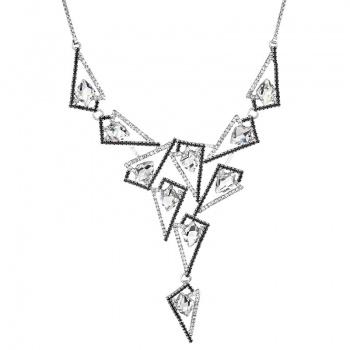 Náhrdelník Tilted spike Big Crystal SWAROVSKI