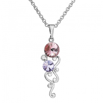 Náhrdelník Light Rose Violet SWAROVSKI