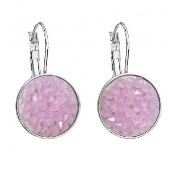 Náušnice Crystal rocks Rose Opal SWAROVSKI
