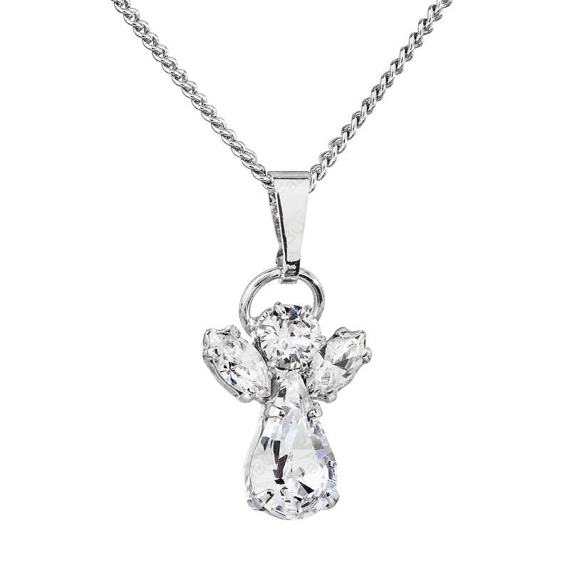 Náhrdelník Andělíček Crystal