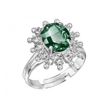 Prsten Mini Kate Emerald SWAROVSKI