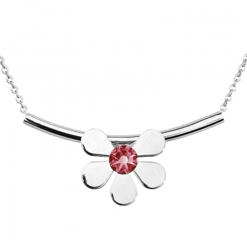 Náhrdelník Summer Flower Pink SWAROVSKI