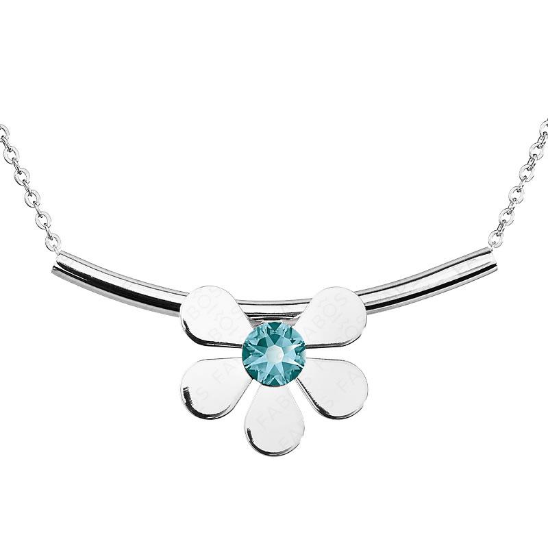 Náhrdelník Summer Flower Blue SWAROVSKI