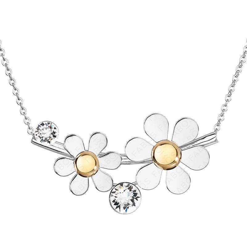 Náhrdelník Summer Flowers Crystal SWAROVSKI