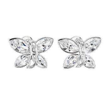 Náušnice Motýlek Crystal SWAROVSKI