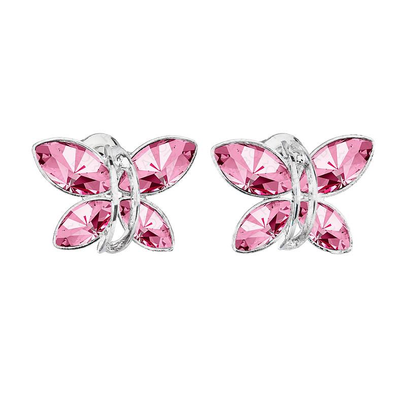 Náušnice Motýlek Light Rose SWAROVSKI