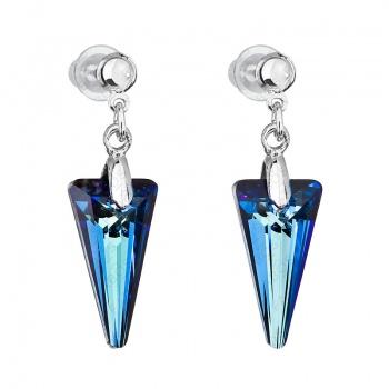Náušnice Spike Bermuda Blue SWAROVSKI