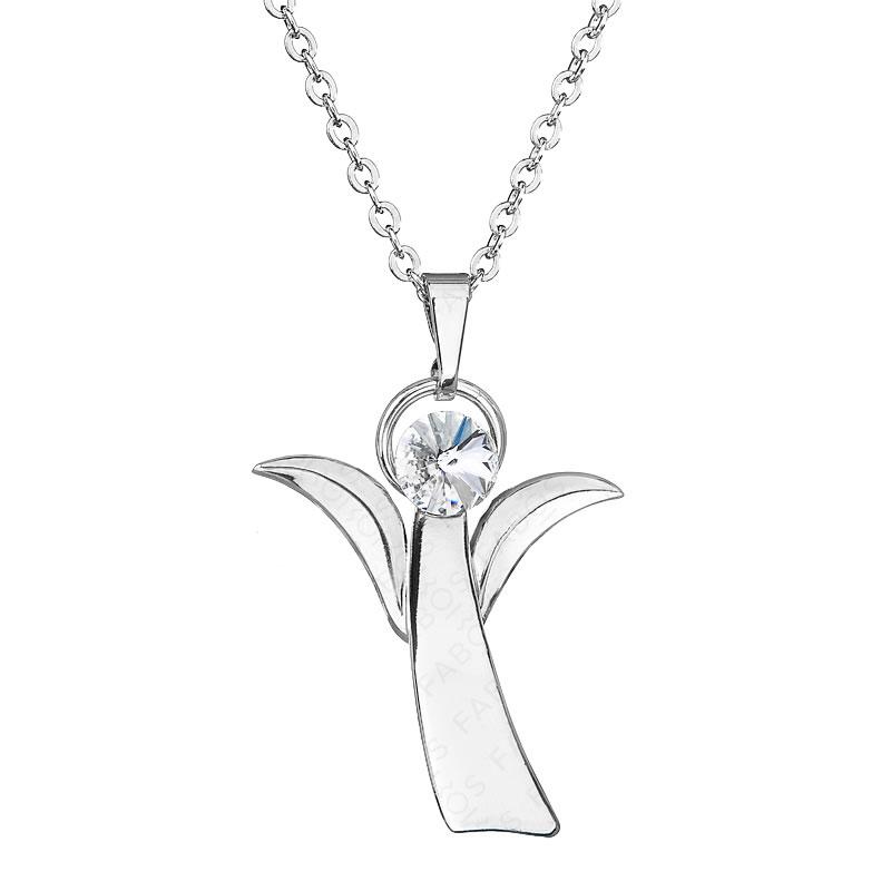 Náhrdelník Anděl naděje Crystal SWAROVSKI