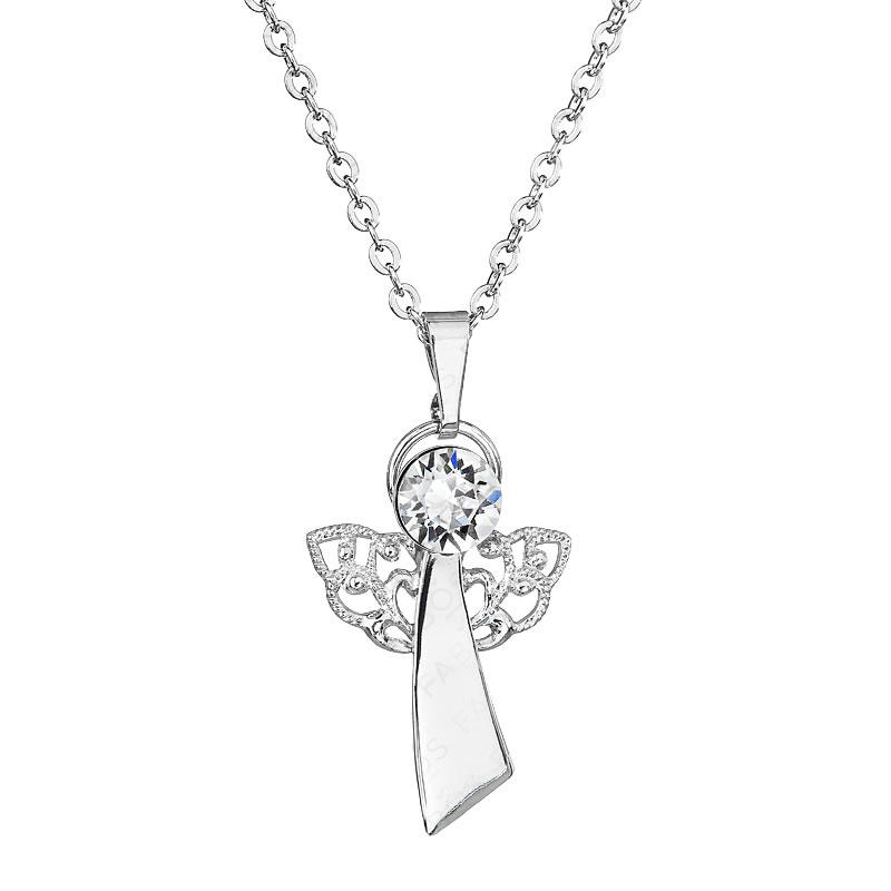 Náhrdelník Anděl víry Crystal FABOS