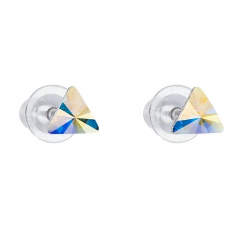 Náušnice Triangl 6mm Crystal AB SWAROVSKI