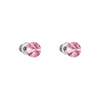 Náušnice Rivoli 6mm Light Rose SWAROVSKI