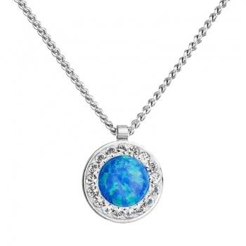 Náhrdelník Modrý opál SWAROVSKI