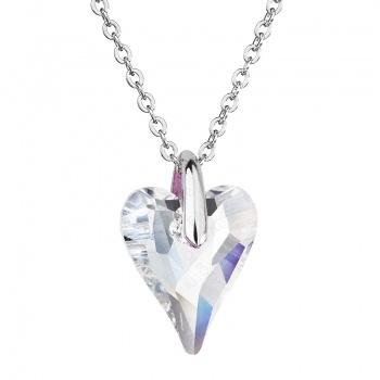 Náhrdelník srdce Amore Crystal FABOS