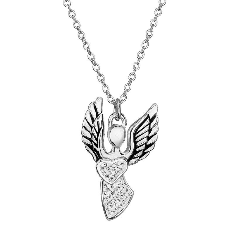 Náhrdelník Anděl lásky Crystal FABOS