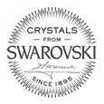 Made with Crystals from Swarovski