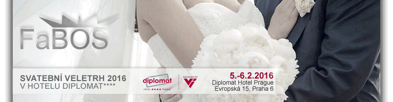fabos, jablonec, bizuterie, swarovski, svatba, veletrh, diplomat, praha, 2016