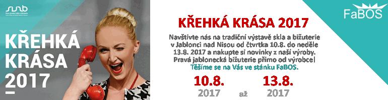 fabos, jablonec, krehka, krasa, swarovski, bizuterie, 2017, sperky, sklo